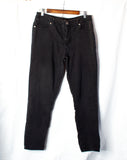 Black Denim Stretchy Jeans