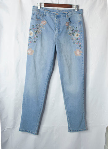 Light Washed Denim Jeans