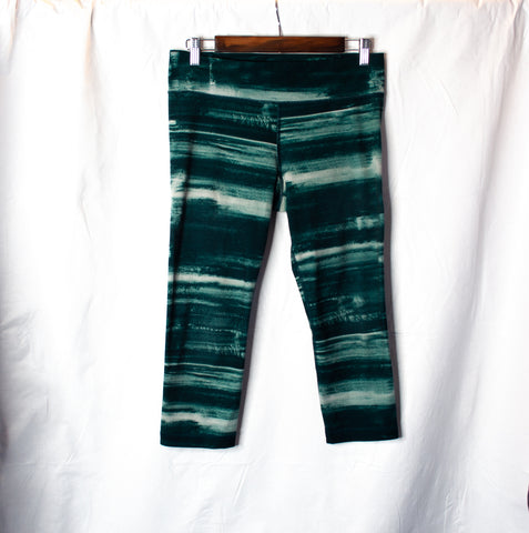 Capris Tie Dye Athletic Pants