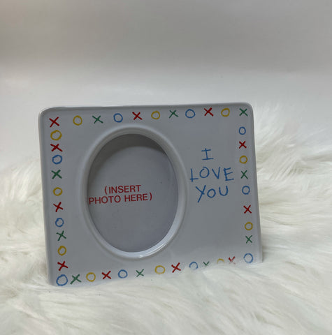 """I love you"" picture frame"