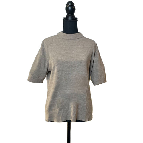 Sag Harbor Grey High Neck Shirt