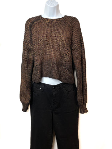 Kendal & Kyle Crop Top Sweater