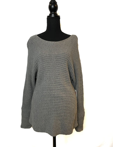 NWT ana A New Apparel Grey Pull Over Sweater