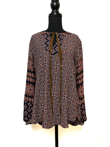 NWT BOHO Long Sleeve Shirt