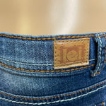 l.e.i. Chelsea Low Rise Boot Cut Jeans