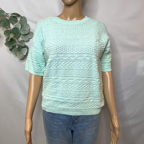Cuddle Knit Light Blue Sweater