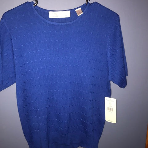NWT Karen Scott short sleeve top