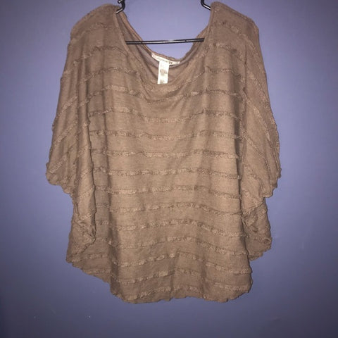 90s forever21  poncho sweater