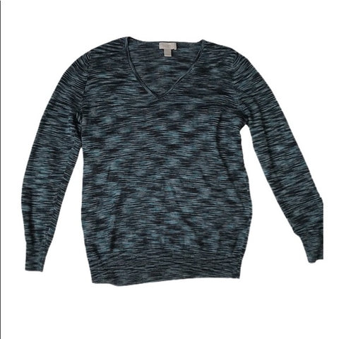 Ann Taylor LOFT Pull Over Sweater | Teal