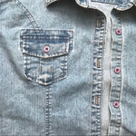 Vintage Riders Denim Button Down Shirt
