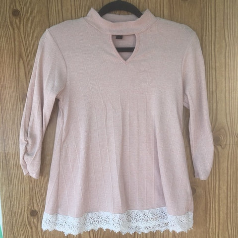 A.Byer Pink Long Sleeve Top