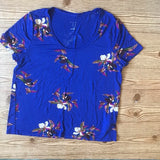 A New Day Floral Print Top