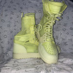 Air Jordan1 Explorer Luminous Green sz: 9