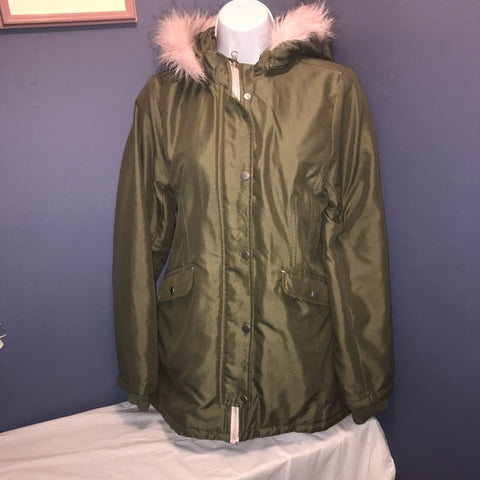 Wonder Nation| Big Girls Army Green Coat