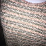 Jennifer Adams Vintage Striped Pink Top
