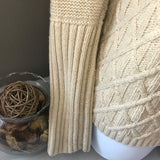 J. Crew Cream Pull Over Sweater