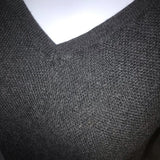 Express 3/4 Sleeve Pull Over Sweater Zipper Detail