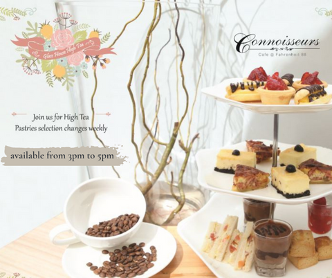 Cafe Chillax at Bukit Bintang | Hi-tea set at Connoisseurs Cafe | 5 star hotel staycation JW Marriott KL | 2 Pax