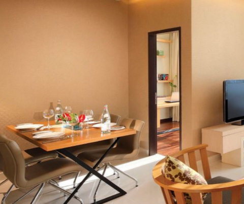 Family room for 5 persons with bathtub | PARKROYAL Serviced Suites Kuala Lumpur | 2D1N staycation with Aquaria KLCC Entrance