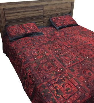 Premium Handmade Bed cover- King size