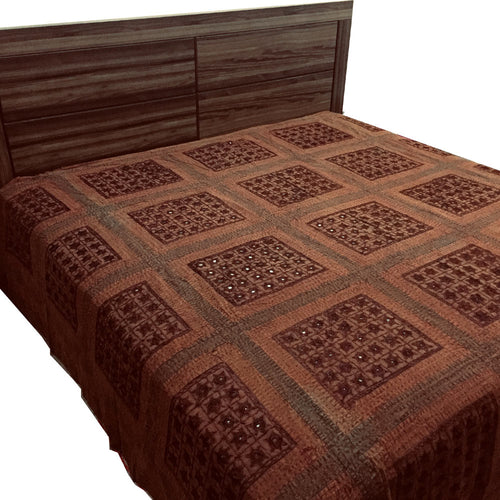 Premium Embroidery Bed Cover King Size