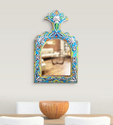 Truck Art Inspired Handmade Wall Mirror
