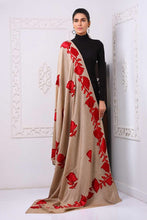 Load image into Gallery viewer, Traditional Embroidered Pure Pashmina Shawl