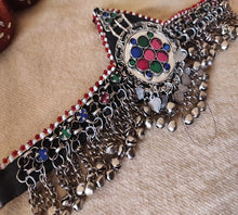 Load image into Gallery viewer, Afghan Mathapatti Handmade Jewelry Kuchi Headpiece For Women