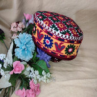 Handmade Traditional Hunza Cap Headwear Warm Winter Hat