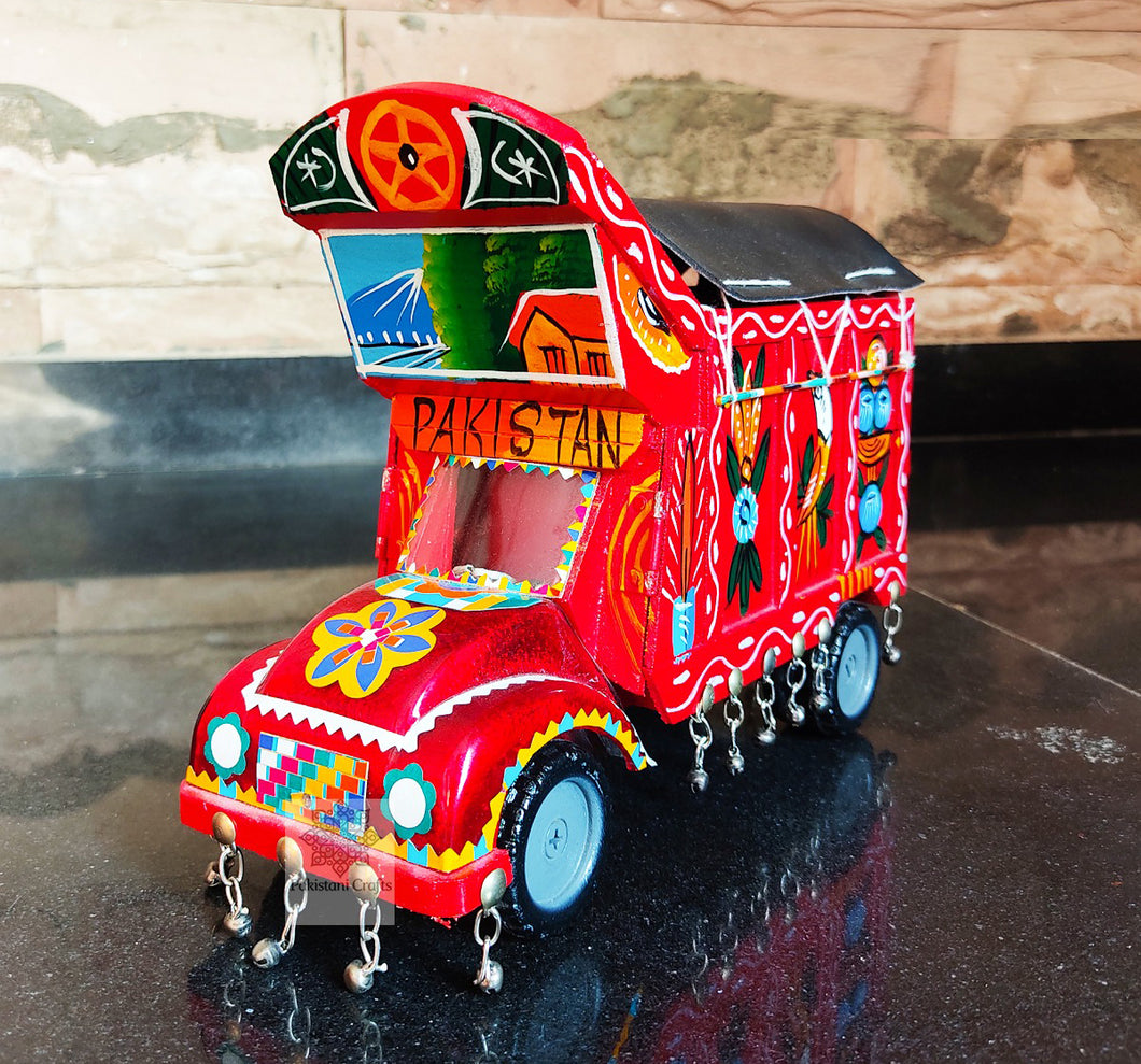 Wooden Traditional Truck For Decoration