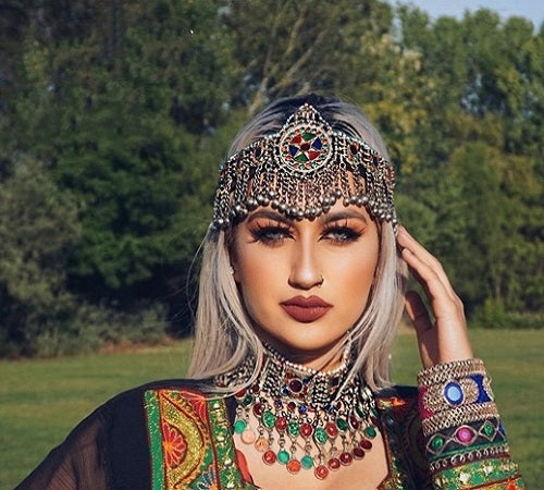 Afghan Handmade Traditional Jewelry Set