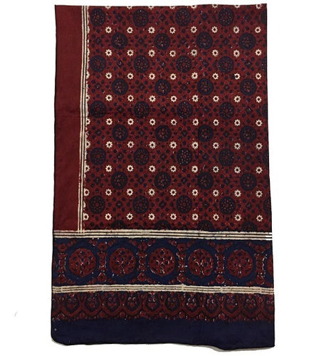 Traditional Premium Block/Hand Printed Ajrak Handmade Craft