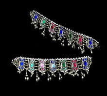 Load image into Gallery viewer, Afghan Kuchi Anklets Pair