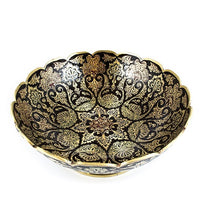 Load image into Gallery viewer, Handmade Traditional Rusty Brass Bowl Pakistani Handicrafts