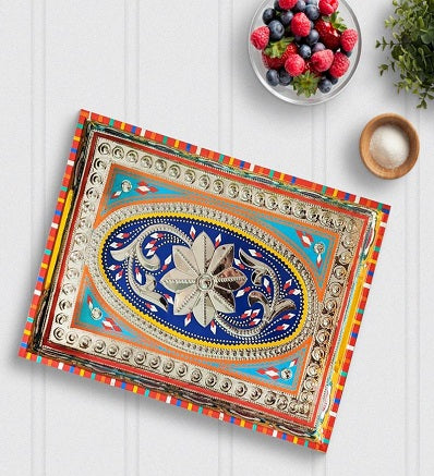 Handmade Decorative Wooden Serving Trays