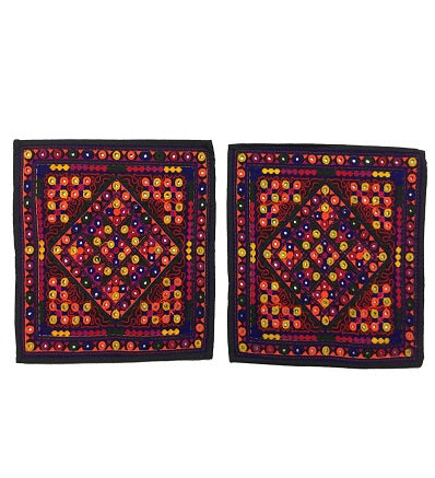 raditional Cushion Covers 2 Pieces Set Handmade Craft