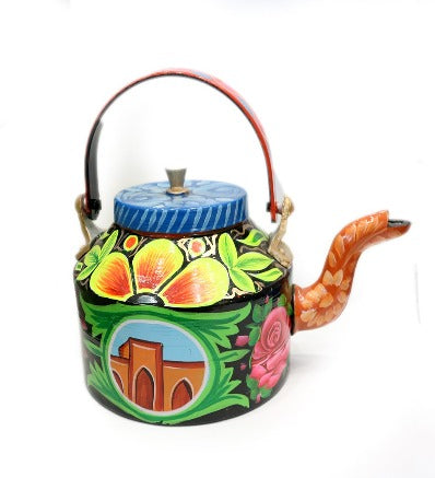 Handcrafted Traditional Tea Kettle Handmade Craft