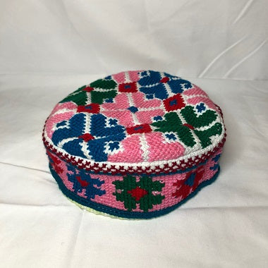 Traditional Floral Handmade Hunza Cap