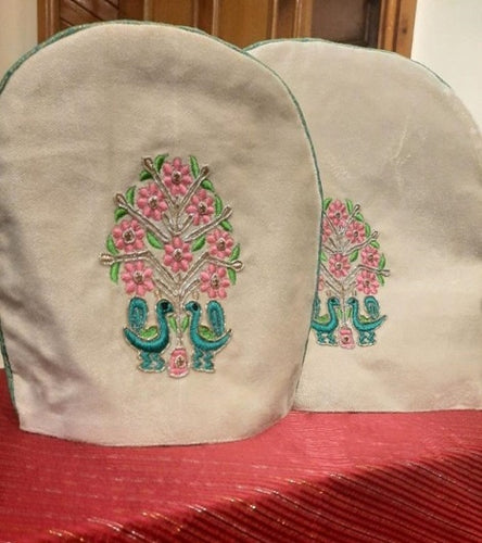 Handmade Traditional Embroidered Teapot Cover Pakistani Handicrafts