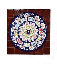 Load image into Gallery viewer, Handmade Traditional Wall Hanging Wooden Framed Plate Wooden Handicrafts