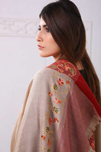 Load image into Gallery viewer, Traditional Embroidered Pashmina Shawl
