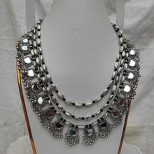 Load image into Gallery viewer, Tribal Silver Multi Layers Necklace