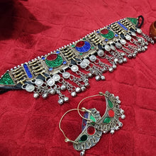 Load image into Gallery viewer, Afghan Tribal Vintage Jewelry Set