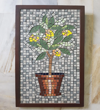 Load image into Gallery viewer, Lemon Tree Mosaic Wall Art