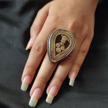 Load image into Gallery viewer, Afghan Kuchi Ring with Stones