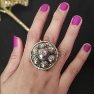 Vintage Afghan Tribal Ring