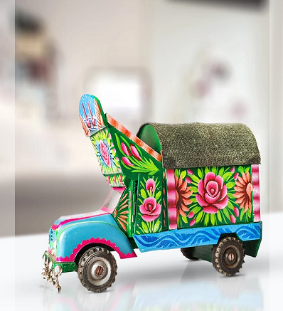 Traditional Handmade & Hand Painted Trucks Pakistani Handicrafts