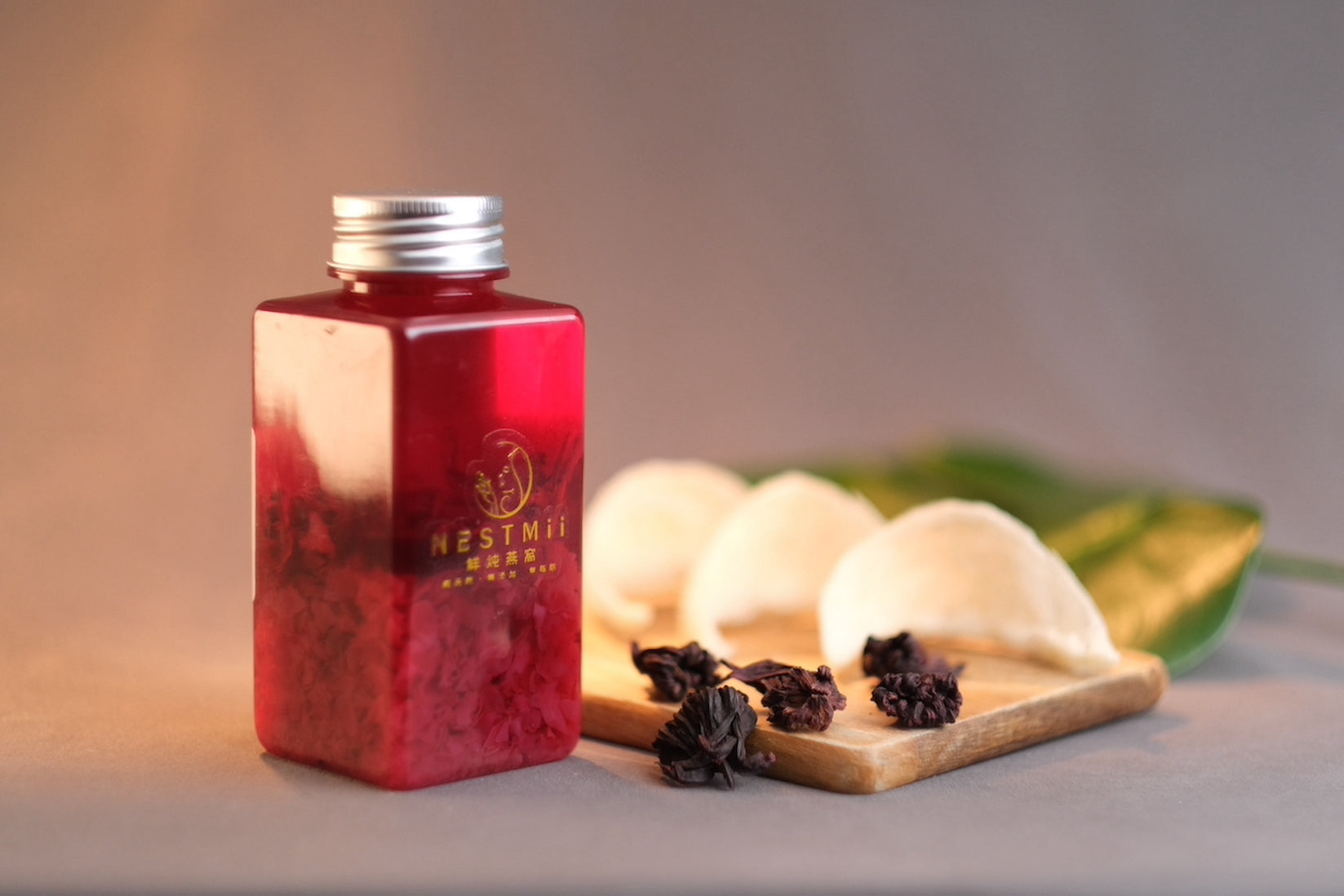 Roselle Flower Tea Birdnest drink <br>减脂洛神花燕窝饮</br>