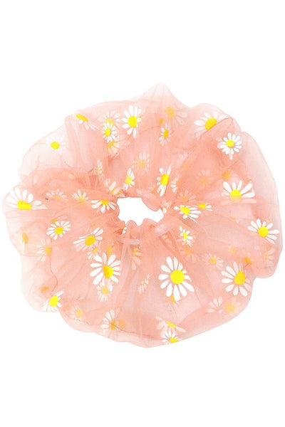 Daisy Oversized Scrunchie