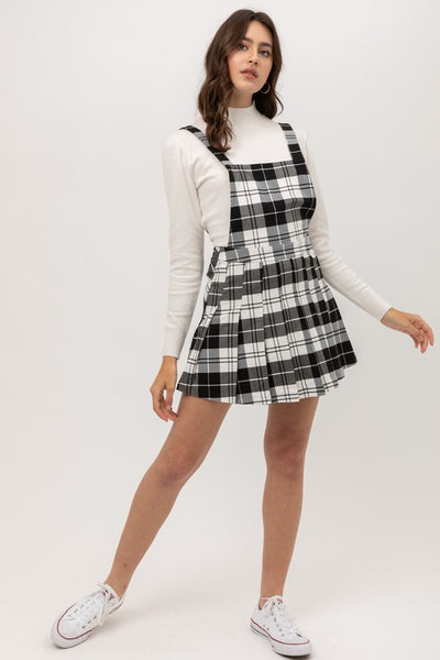 Talk Plaid To Me Dress